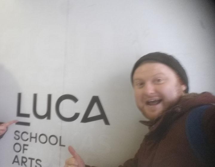 Industry 4.0 Workshop at LUCA School of Art